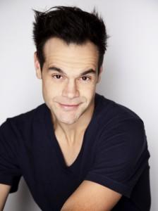 Comedian Michael Malone Headshot-White