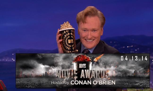 Conan O'Brien to host 2014 MTV Movie Awards