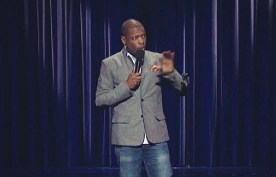 Michael Che on Late Night with Seth Meyers