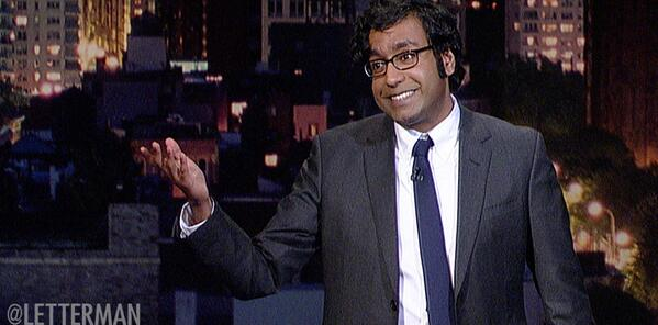 Hari Kondabolu on Late Show with David Letterman