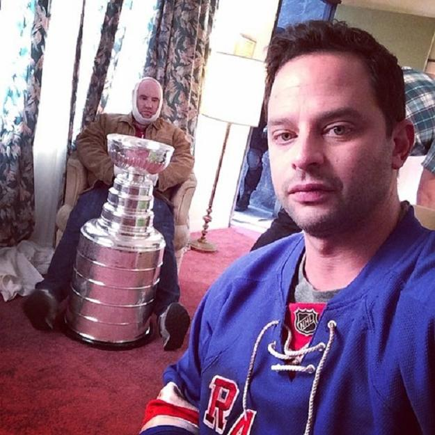 Nick Kroll, Stanley Cup #Cupnapper, in NBC Sports NHL promotional campaign