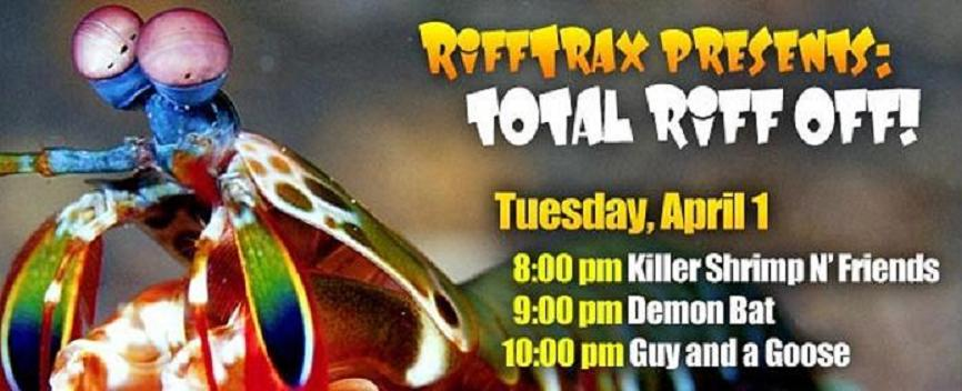 RiffTrax brings a bit of the old MST3K magic to National Geographic Channel on April Fool's Day 2014