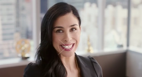 Sarah Silverman, new spokeswoman for Orbit Gum