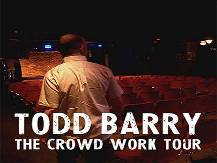 """Todd Barry """"The Crowd Work Tour,"""" a film special from Louis C.K., an interview via emails"""