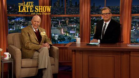 Watch Drew Carey host The Late Late Show, with guest Carl Reiner