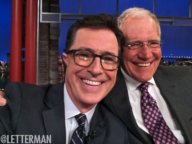 The Late Show with Stephen Colbert to debut Sept. 8, 2015; CBS to rerun primetime in late-night over the summer after Letterman's retirement