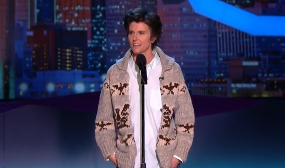 Tig Notaro on Conan in Dallas
