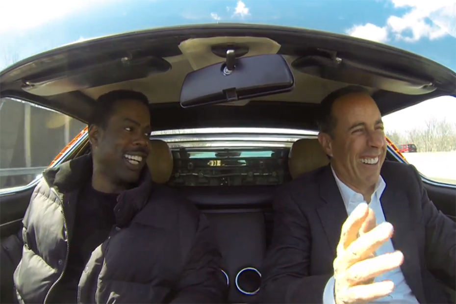Jerry Seinfeld's Comedians In Cars Getting Coffee to run for at least nine seasons online
