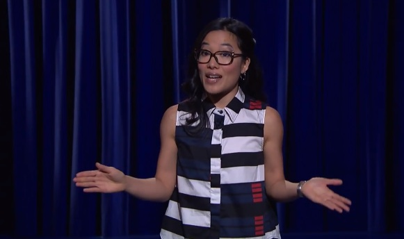 Ali Wong on Late Night with Seth Meyers