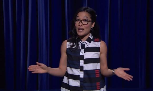 Ali Wong on Late Night with Seth Meyers
