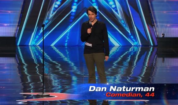 Dan Naturman's audition for America's Got Talent season 9