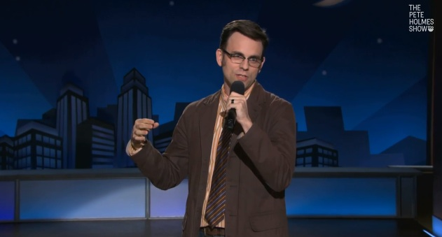 Dan Telfer's TV debut on The Pete Holmes Show