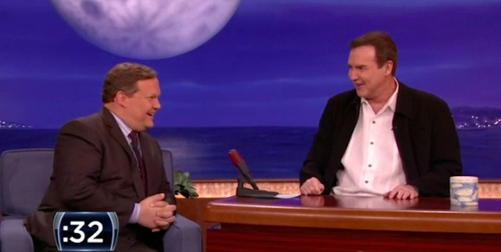 "Norm Macdonald's one-minute audition for ""The Late Late Show"" on CBS (thanks to Conan)"