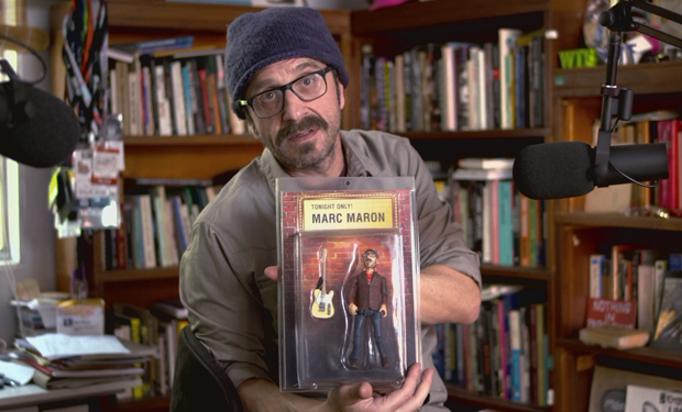 "Get to know the real Marc Maron from the IFC TV Maron by going ""Inside Maron's Garage"""