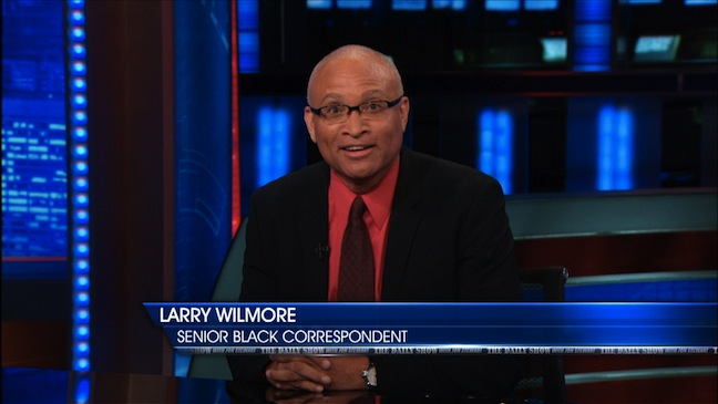 "Larry Wilmore hired as Comedy Central's new late-night host: ""Minority Report"" replacing Colbert; also showrunner for ABC's new sitcom ""Black-ish"""