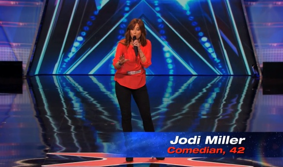 Jodi Miller's audition for America's Got Talent 2014