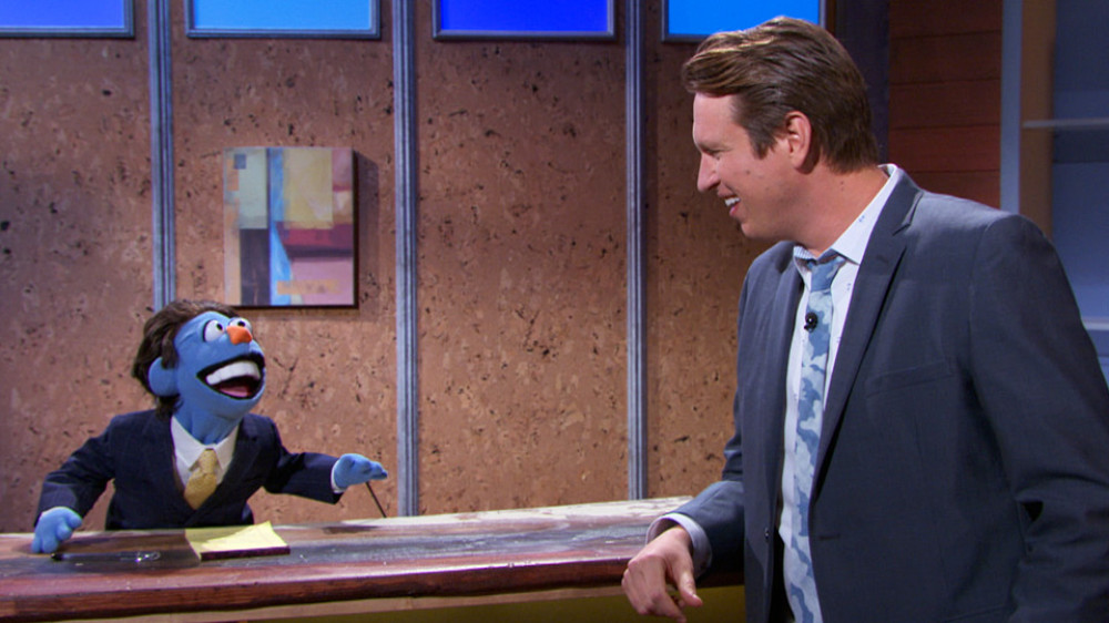 Paying tribute to Seinfeld through puppetry: New Material Seinfeld on The Pete Holmes Show, voiced by Joe DeRosa