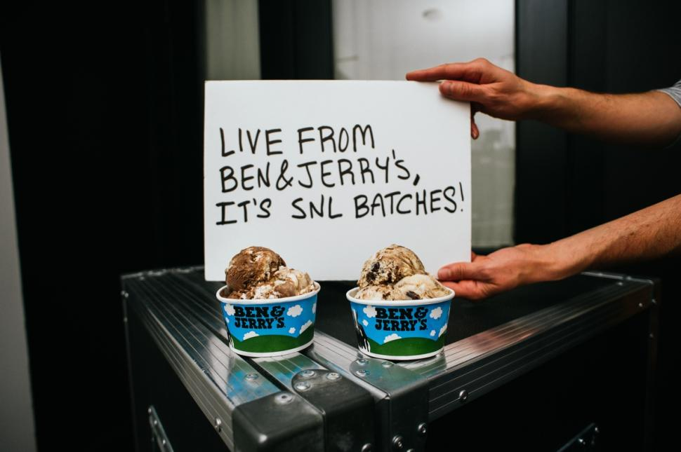 Ben and Jerry's announces new Lazy Sunday and Gilly flavors as part of expanded SNL partnership
