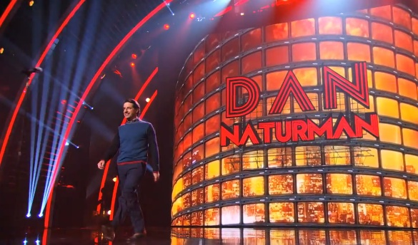 Dan Naturman's Quarterfinals performance on America's Got Talent 2014