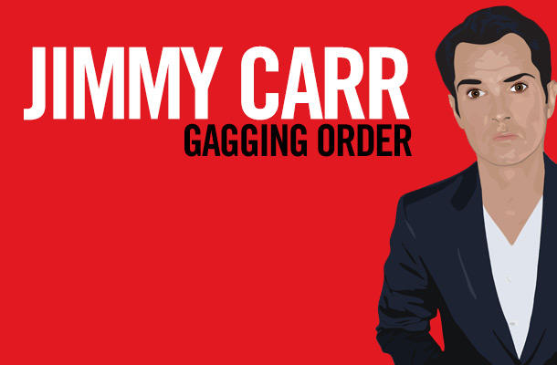 Jimmy Carr: Gagging Order, at #JFLMTL 2014