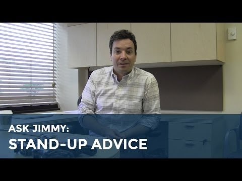 Stand-up comedy advice from Jimmy Fallon