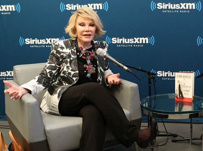 Joan Rivers on her stand-up comedy contemporaries, then and now