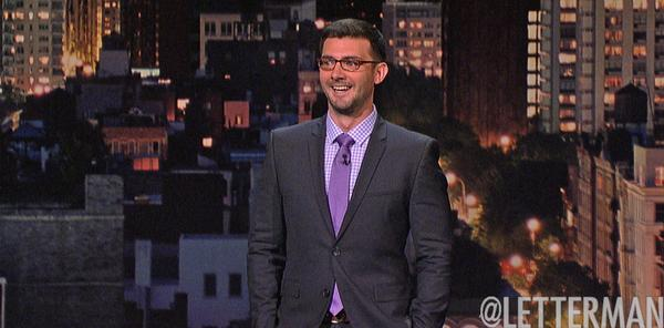 Tommy Johnagin on Late Show with David Letterman