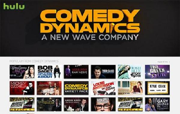 [Sponsored] Check out Comedy Dynamics on Hulu