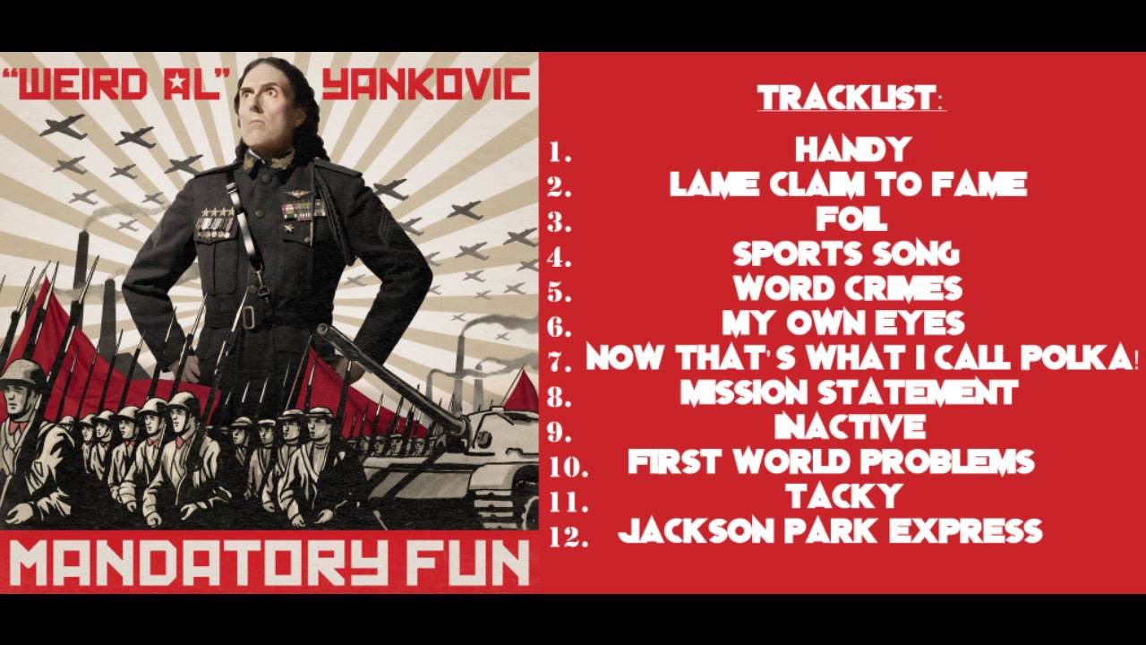 """Weird Al"" Yankovic's Mandatory Fun: #8Videos8Days"