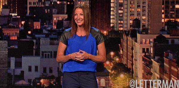 """Bonnie McFarlane on Letterman, and a plug for """"Women Aren't Funny"""""""