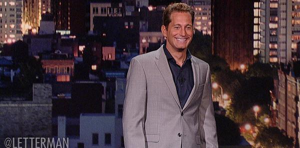 Andrew Norelli on Late Show with David Letterman