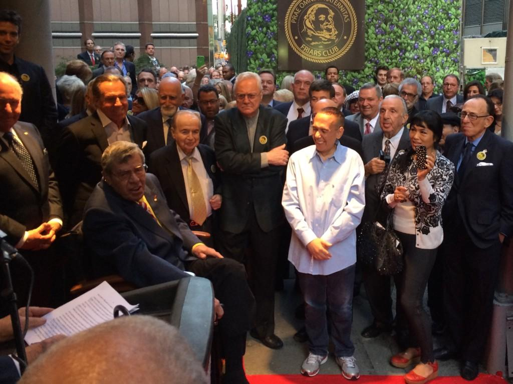 Friars Club renames its clubhouse building the Jerry Lewis Monastery