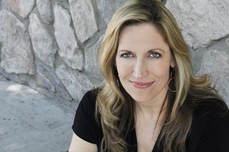 """Laurie Kilmartin filming her """"45 Jokes About My Dead Dad"""""""