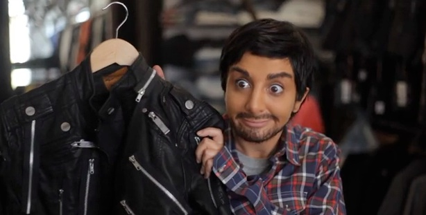See an unaired SNL sketch with Nasim Pedrad as Aziz Ansari
