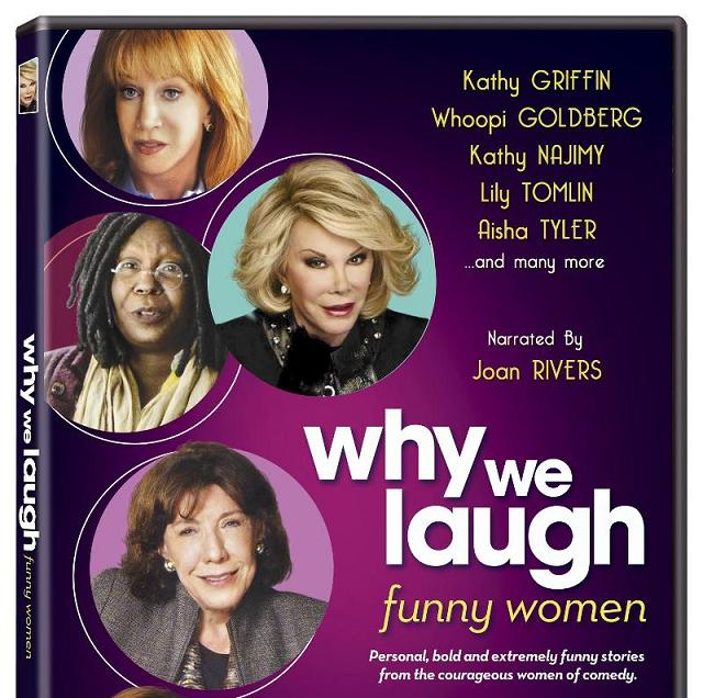 """""""Why We Laugh: Funny Women,"""" narrated and executive produced by Joan Rivers"""