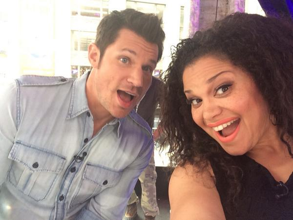 "Michelle Buteau named new co-host for Nick Lachey on VH1's ""Big Morning Buzz Live"""