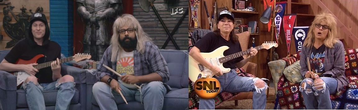 Wayne's World Halloween: Who wore it better, Comedy Bang! Bang! or the Today Show?