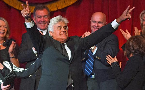 Jay Leno is the Richard Nixon of comedy