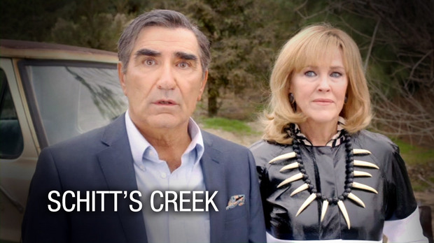 """POP (formerly TV Guide Network) to air CBC's """"Schitt's Creek"""" starring Eugene Levy, Catherine O'Hara and Chris Elliott"""