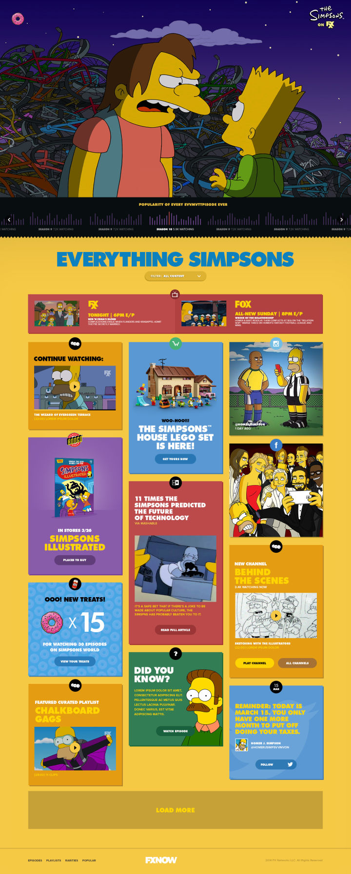 FXX and The Simpsons launch Simpsons World app for all-access to #EverySimpsonsEver