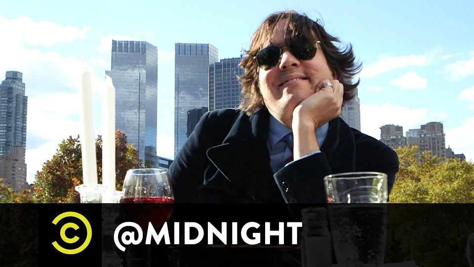 Dave Hill reviews Guy Fieri's Times Square restaurant for @midnight