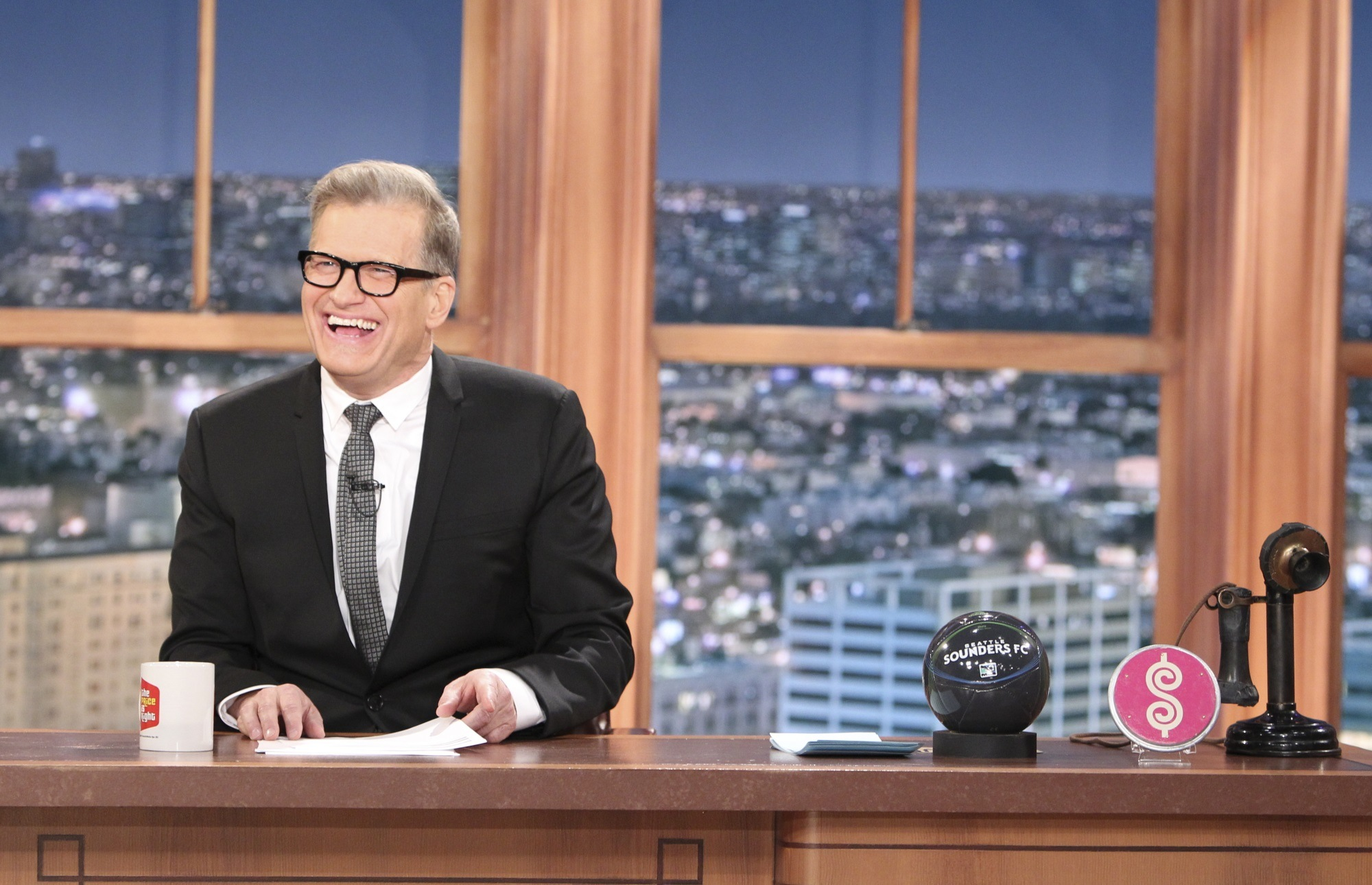 Drew Carey, The Talk ladies, nine other men to guest host special editions of The Late Late Show on CBS January-March 2015