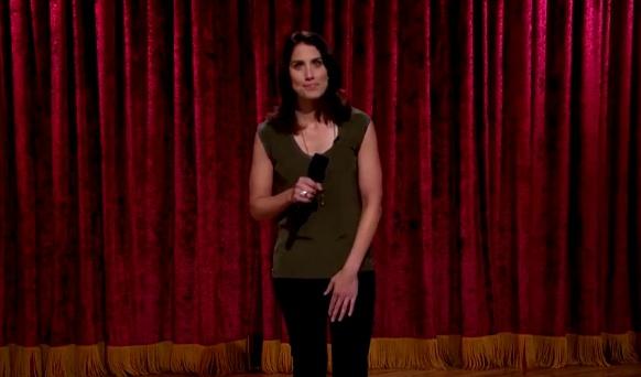 Erin Foley on Late Late Show with Craig Ferguson