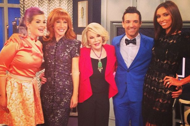 Kathy Griffin reportedly replacing the late Joan Rivers as host of E!'s Fashion Police