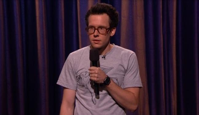 Matt Donaher's TV debut on Conan