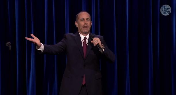 Jerry Seinfeld on The Tonight Show Starring Jimmy Fallon, Festivus 2014