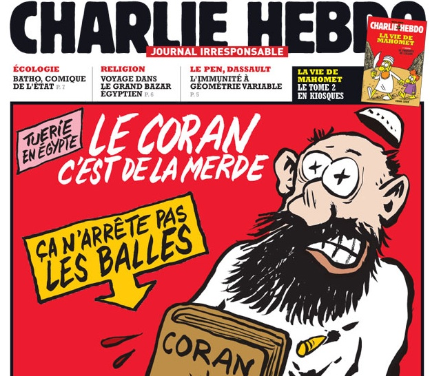 Gunmen massacre in Paris at Charlie Hebdo, French weekly satirical magazine