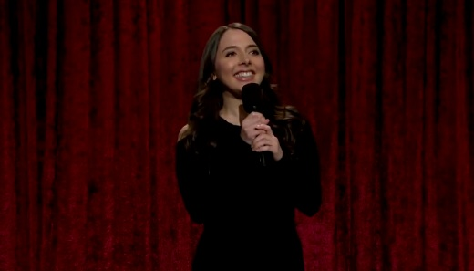Esther Povitsky on The Late Late Show