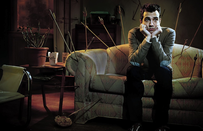 Jay Baruchel on playing within the surreal dating world of FXX's Man Seeking Woman
