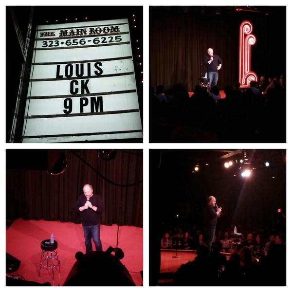 """Louis CK adds fourth MSG arena show; filmed """"Live at the Comedy Store,"""" coming this spring online, then on FX"""